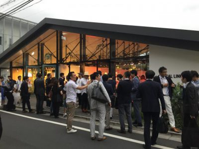 Ray-Ban CLUBROUND BASE Launch Partyに招かれました。