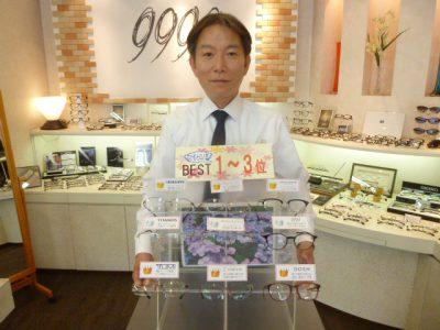 なかむらの売れ筋ランキングVol-40~ORIVERPEOPLES DIANDRA~
