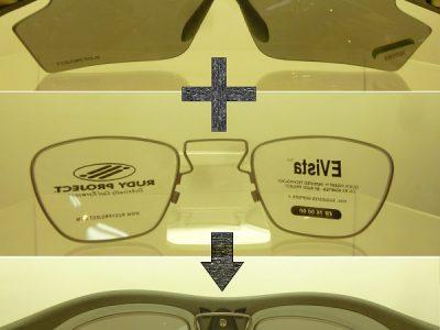 度付きサングラスを作るには④インナーパーツを使用する