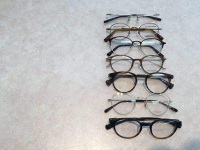 イマドキの丸メガネ その1ボストン鴨居店編 決算セールも好評開催中です!
