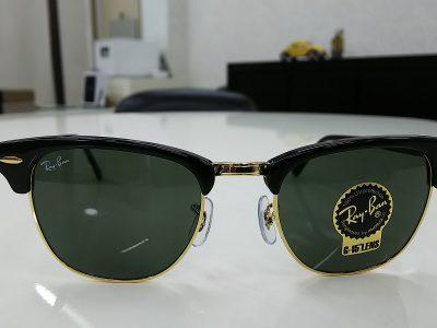 夏に向けておすすめのサングラス~RAYBANクラブマスター~