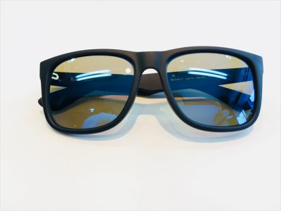 RayBan(レイバン)の度付きサングラスを加工しました。 其の四