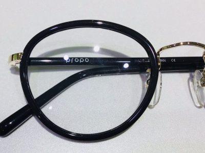 propoのセル巻きメガネ、ANN入荷‼